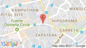 Horizons 101 location map