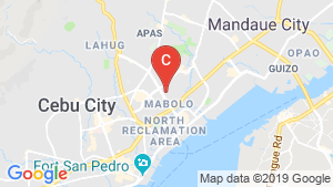 Mabolo Garden Flat location map