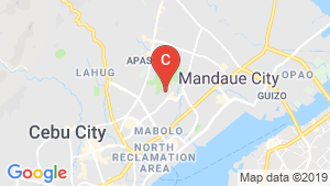 One Oasis Cebu location map