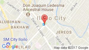 Iloilo Business Park location map