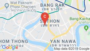 The Cube Urban Sathorn - Chan location map