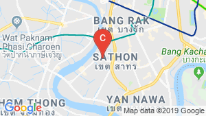 Altitude Symphony Charoenkrung location map