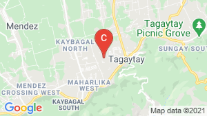 Pine Suites Tagaytay location map