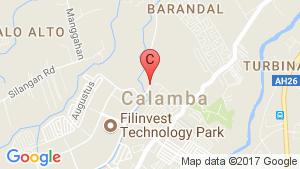 Aldea Real At Ciudad De Calamba location map
