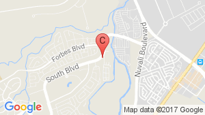 Scandia Suites, South Forbes location map