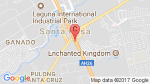 House for sale in Santa Rosa, Laguna location map