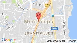2 Bedroom Condo for sale in Muntinlupa, Metro Manila location map