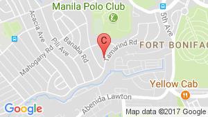 Condo for sale in BGC, Metro Manila location map