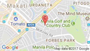 The Rise Makati By Shangrila location map