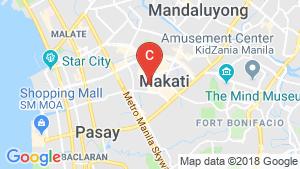 Office for rent in San Lorenzo, Metro Manila location map