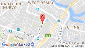 Grand Hyatt Manila Residences location map