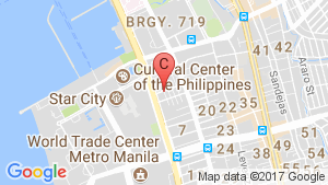 The Radiance Manila Bay location map