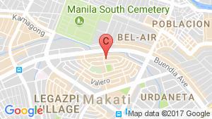 Salcedo Skysuites location map