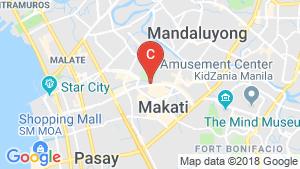 3 Bedroom Condo for sale in Bel-Air, Metro Manila location map