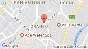 Condo for sale in Maven, Pasig, Metro Manila location map