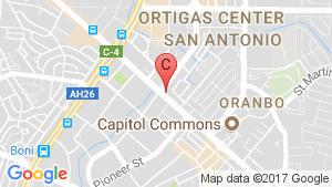 One San Miguel Avenue location map