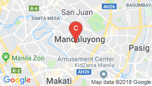 Condo for sale in Mandaluyong, Metro Manila location map