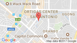 2 Bedroom Condo for sale in The Pearl Place, Pasig, Metro Manila location map