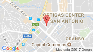 The Residences at The Westin Manila Sonata Place location map