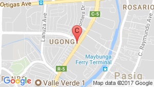 KASARA Urban Resort Residences location map