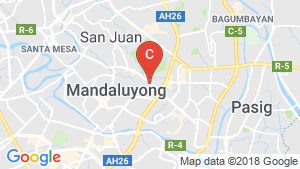 Commercial for rent in Ortigas, Metro Manila near MRT-3 Ortigas location map