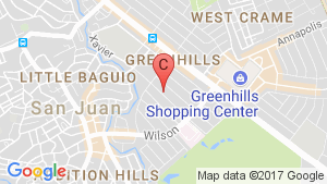 3 Bedroom Condo for sale in Viridian in Greenhills, Greenhills, Metro Manila location map