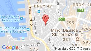 Eton Baypark Manila location map