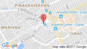 Mezza Residences location map
