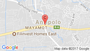 Land for sale in Antipolo, Rizal location map