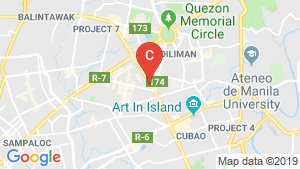 Glam Residences location map