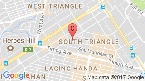 Condo for sale in South Triangle, Metro Manila location map