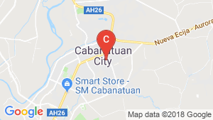 House for sale in Mabini Extension, Nueva Ecija location map