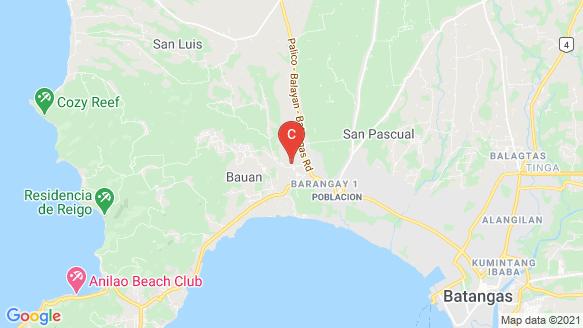 Golden Haven Memorial Park - Bauan location map