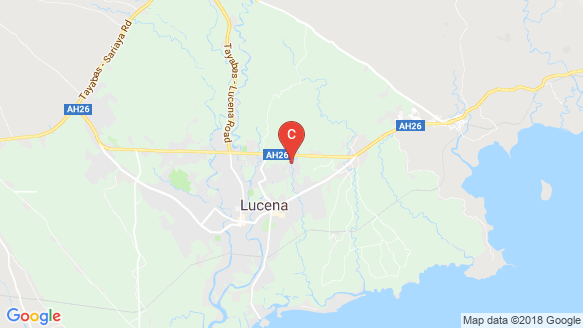 The Metropolis Lucena location map