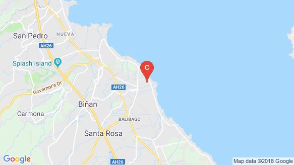 Valenza location map