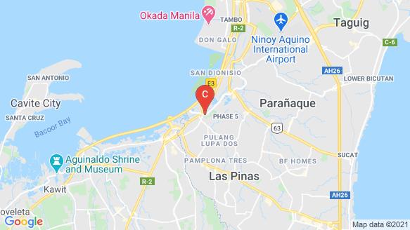 Golden Haven Memorial Park - Las Piñas location map
