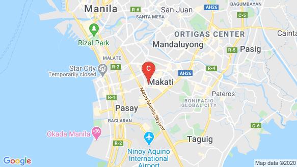 Parkford Suites location map