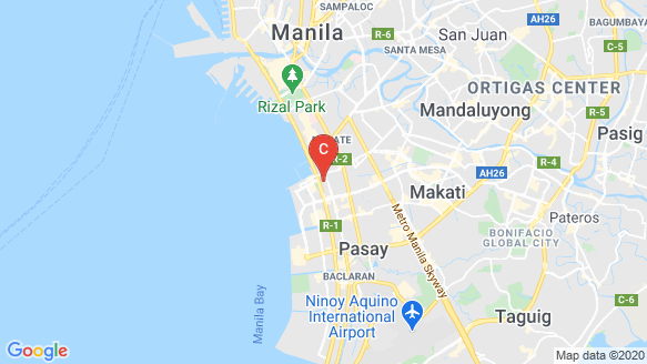 The Radiance Manila Bay – South Tower location map