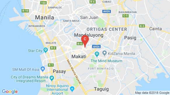 Centuria Medical Makati location map
