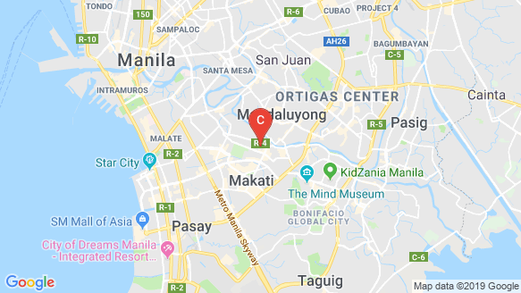 The Gramercy Residences location map