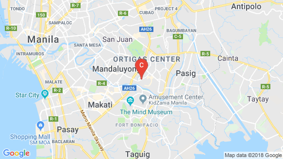 Axis Residences location map