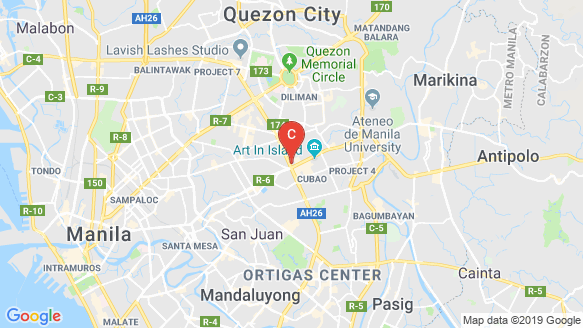 Activa Cubao location map