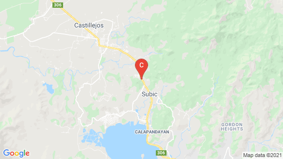 Golden Haven Memorial Park - Subic location map