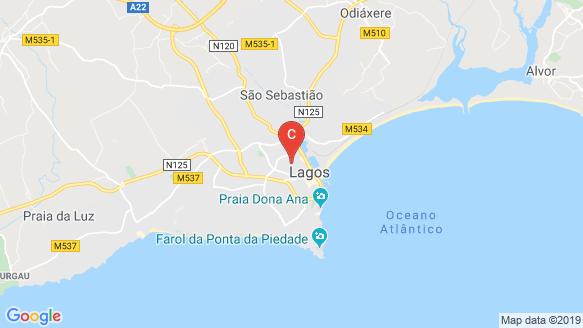 Horta do Galvao location map