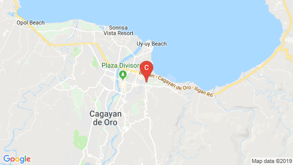 One Oasis Cagayan De Oro location map