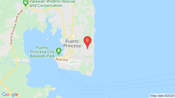 East Bay Palawan location map